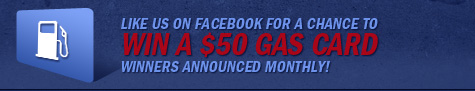 Like The Automotive Connection on facebook for a chance to win a $50 gas card - winners announced monthly!